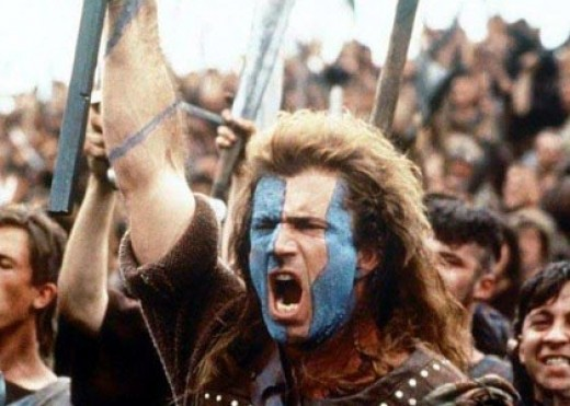Mel Gibson's Braveheart battle speech is one of the best-known and best-loved.