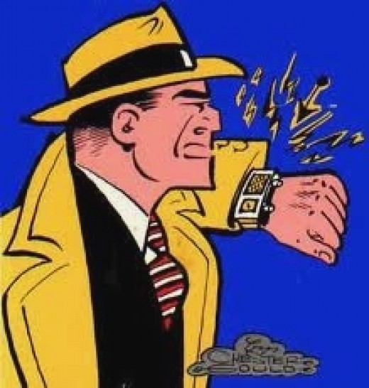 DICK TRACY WRIST PHONE