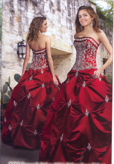 Stunning Red Wedding Dress Ebay