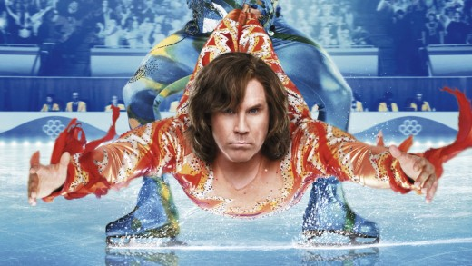 Will Ferrell in ice skating movie Blades of Glory