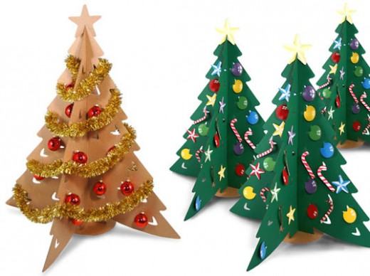 Make your own Christmas crafts at home.