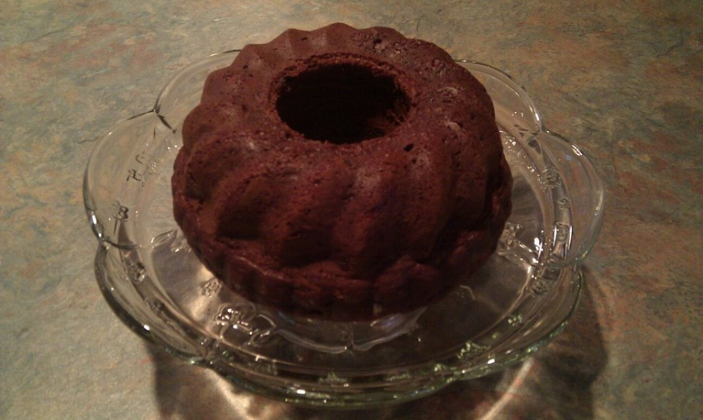 Double Chocolate Pumpkin Cake or Bread