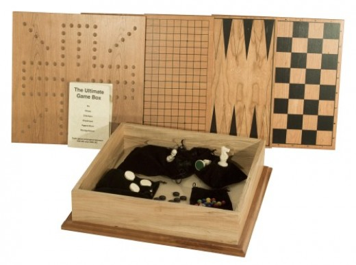 Multi Wooden Game Set