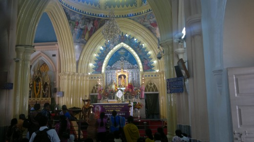 Mother Mary of Vailankanni