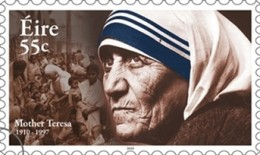Eire stamp featuring Mother Teresa