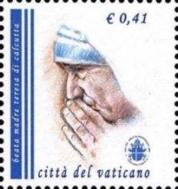 A Mother Teresa Stamp from Vatican City