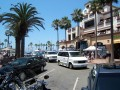 Huntington Beach during the day.