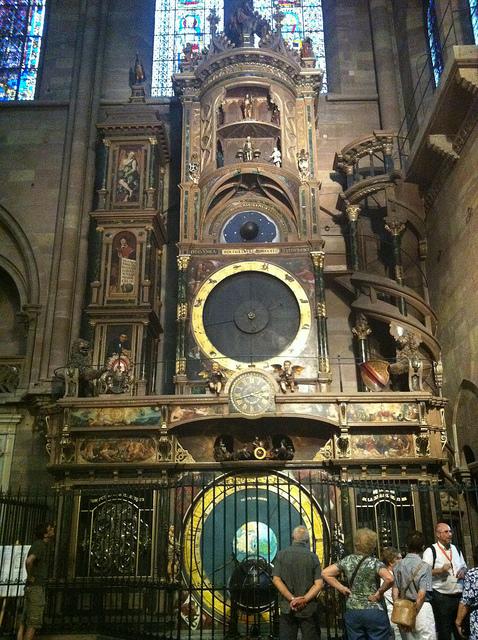 Strasbourg Cathedral Clock