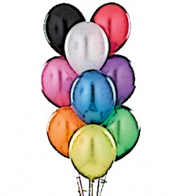 Balloons are a must for any New Year's party!