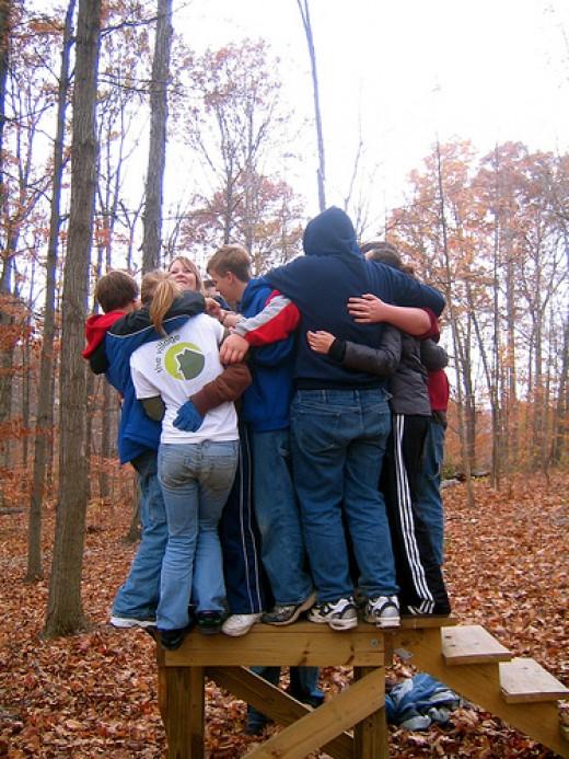 Group Hugg from joshmuller79 Source: flickr.com