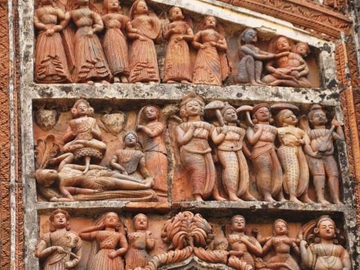 Terracotta figurines