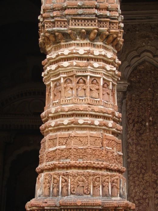 Front pillar