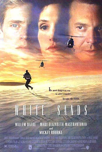 White Sands Poster