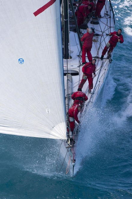 Wild Oats. Wild Oats XI has never been better prepared for a start of the Rolex Sydney Hobart race. She will carry a new, high-tech metallic-looking mainsail that holds its shape as if it was a rigid wing. This sail is 30 square metres larger at the