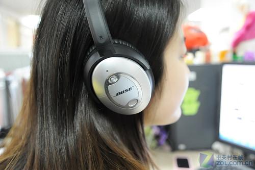 Bose Quiet Comfort 15 Headphones while working