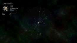 Life Planet with 23 asteroids in orbit, satisfying the Asteroid Nursery achievement.