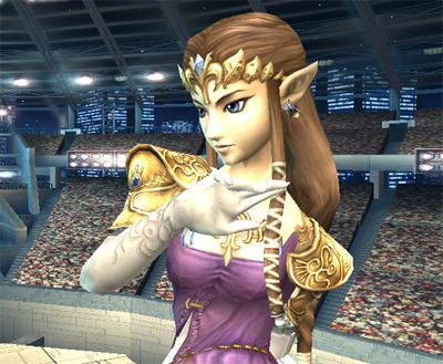 Zelda from The Legend of Zelda
