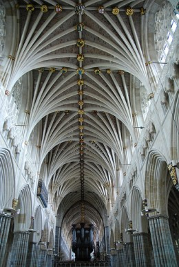 Exeter Cathedral Roof from RPeeks Source: flickr.com