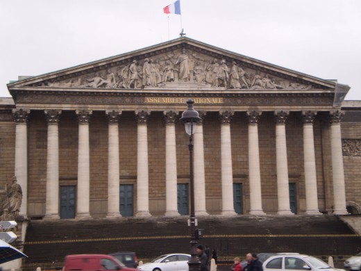 The Assemblee Nationale (National Assembly).