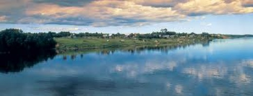 River Dnieper in the Ukraine - the next link in the chain