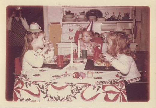 Ringing in the New Year with kids hasn't changed much over the years