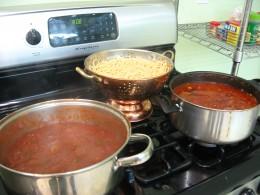 Making Spaghetti for Dinner