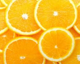 Sliced Orange for Garnish