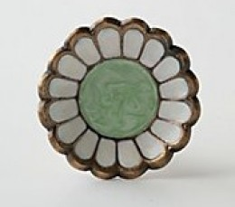 Daisy knob from Anthropologie. $12.