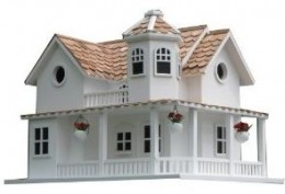 Home Bazaar Post Lane Cottage Birdhouse