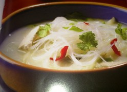 Chicken Coconut Soup Recipe