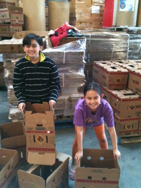 The Kids At Westside Food Bank