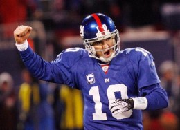 If the Giants beat the Cowboys this weekend, it will be because of the arm of Eli Manning
