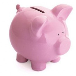 "Rather than using the traditional piggy bank at home open a bank account online and manage your money the ""proper"" way."