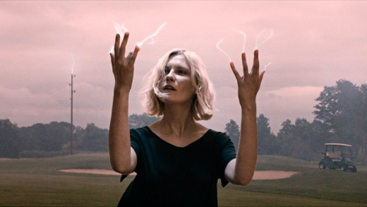 Kirsten Dunst in the opening sequence of Lars Von Trier's Melancholia