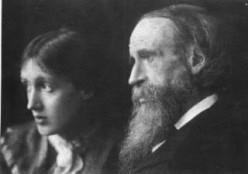 Virginia Woolf and her father, Sir Leslie Stephen