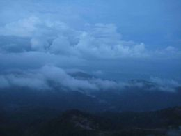 Genting Highlands in Malaysia at Sunset