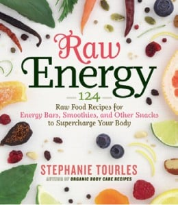 Raw energy incorporated fresh fruits and vegetables into making your own energy bars and snacks.