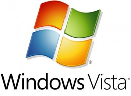 Windows Vista logo.