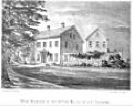 Brook farm when it was used as Camp Andrew in Civil War.
