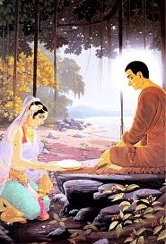 Sakyamuni became the Buddha