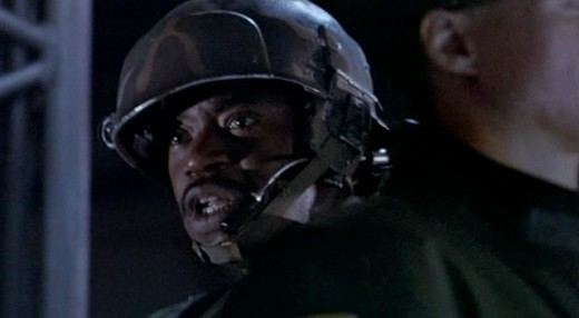 "Sgt. Apone utters famous words in ""Aliens"""