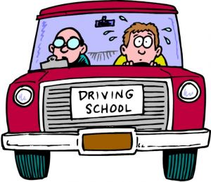 Driving Instructor and New Student