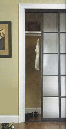 Replacement of a mobile home exterior door with a standard for Replacement house doors