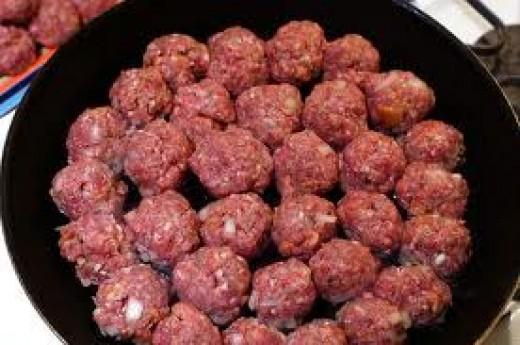 Frying Meatbals to Brown