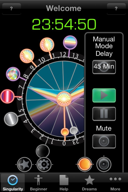 Developed for lucid dreamers, this app includes a host of customizable alarms to be played during dreaming. 5$ on the app store