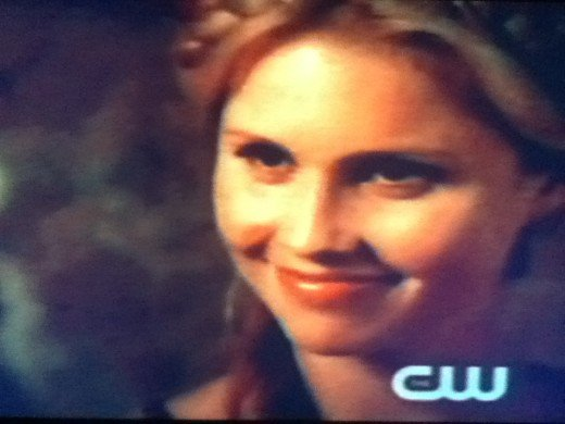 Rebekah carved her name and that of her brothers on the cave walls.