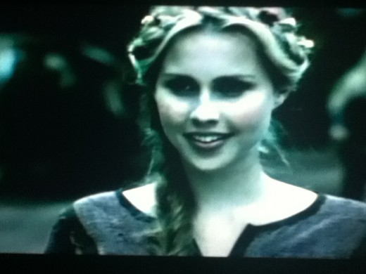 Rebekah, back when she was human.