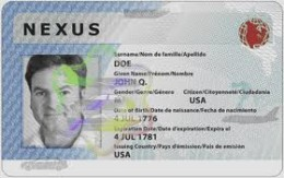 Sample Nexus Card