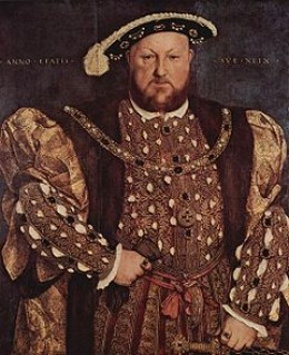 Henry painted by Hans Holbein the younger