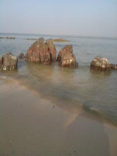 Rocks on the St Mary's Island